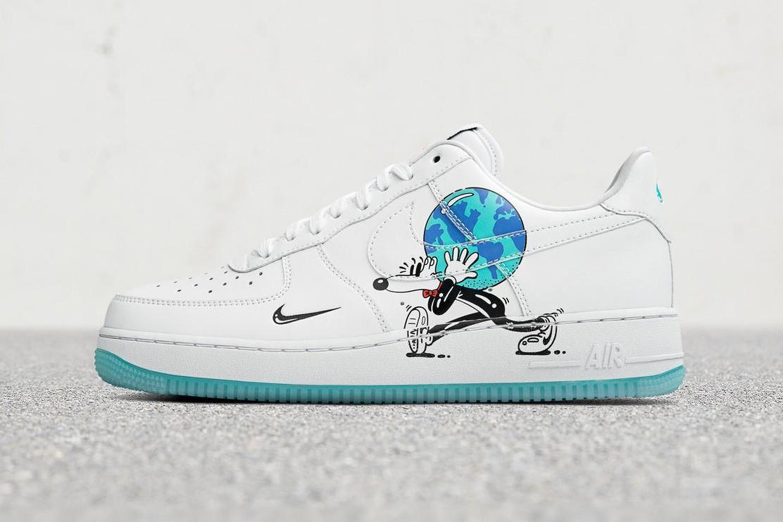"""Nike Taps Artist Steve Harringotn for """"Earth Day Pack"""""""