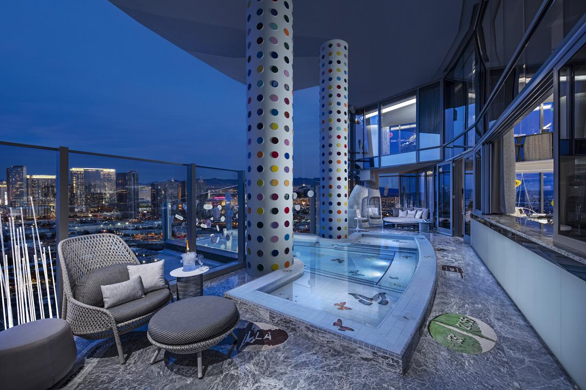 Las Vegas Suite is Most Expensive in the World Designed by Damien Hirst
