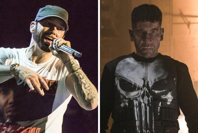 Eminem is Angry at Netflix for Canceling 'The Punisher'