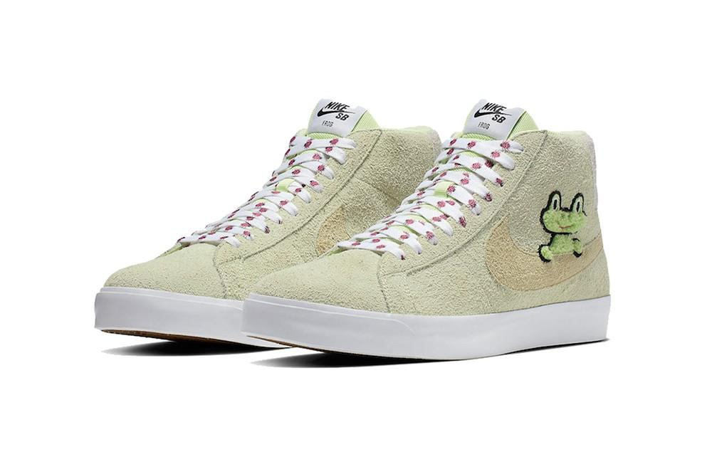Frog Skateboards Brings Us a Funk Children's Book Styled Nike SB Blazer