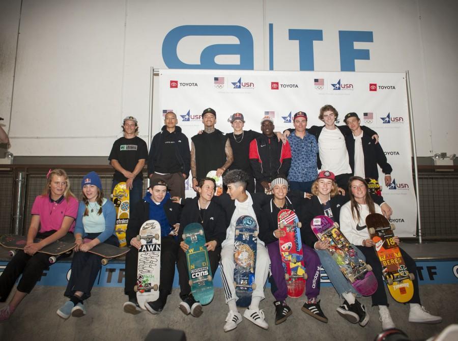 USA Skateboarding Nation Olympic Team Announced