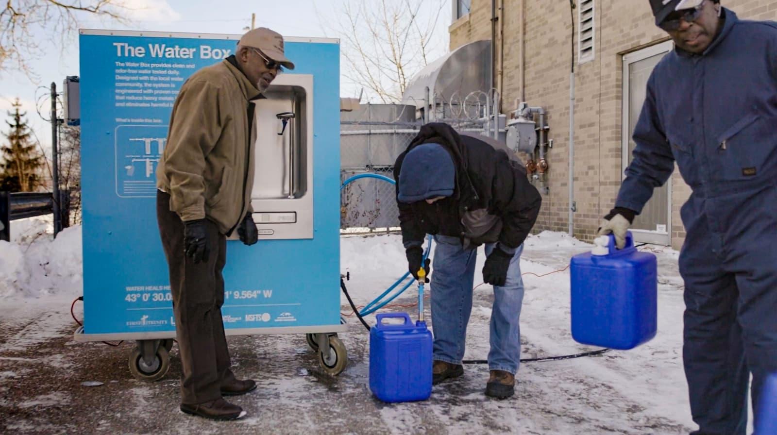 Jaden Smith bringing clean water to Flint