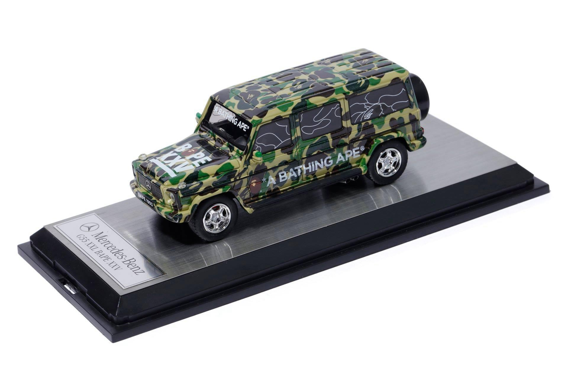 Bape To Release Special Schuco Mercedes Mini Car For Its
